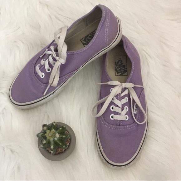 52941a861a Vans Shoes light purple sneakers women s size 7.5.  M 5b1482532e14789233af4863